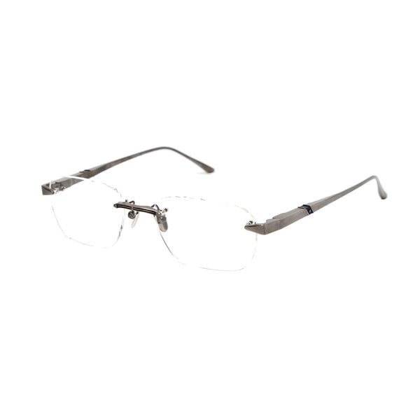 Leisure Society - Del Rey - Antique Silver - Rimless - Titanium - Eyeglasses