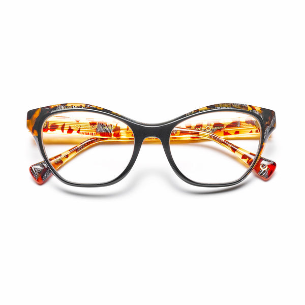 Etnia Barcelona - La Condesa - HVBK - Havana / Black - Rectangle - Cateye - Zyl - Eyeglasses