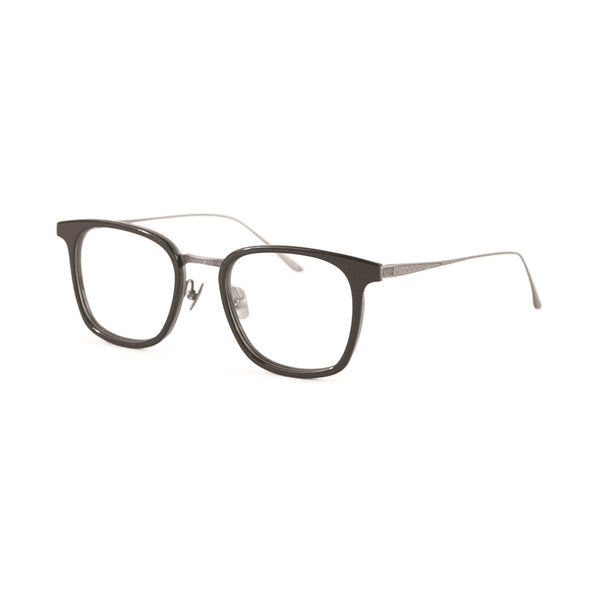 Leisure Society - Euclid - Black - Rectangle - Titanium - Eyeglasses