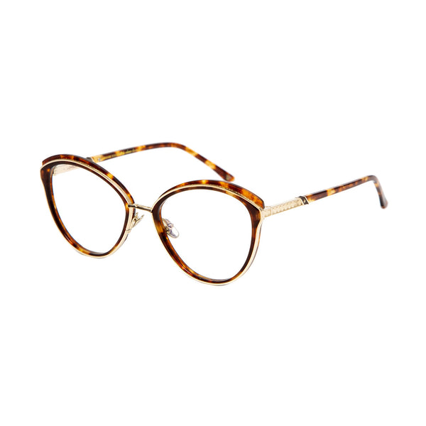 Leisure Society - Lovelace - 18K Gold / Tortoise - cateye - eyeglasses - titanium