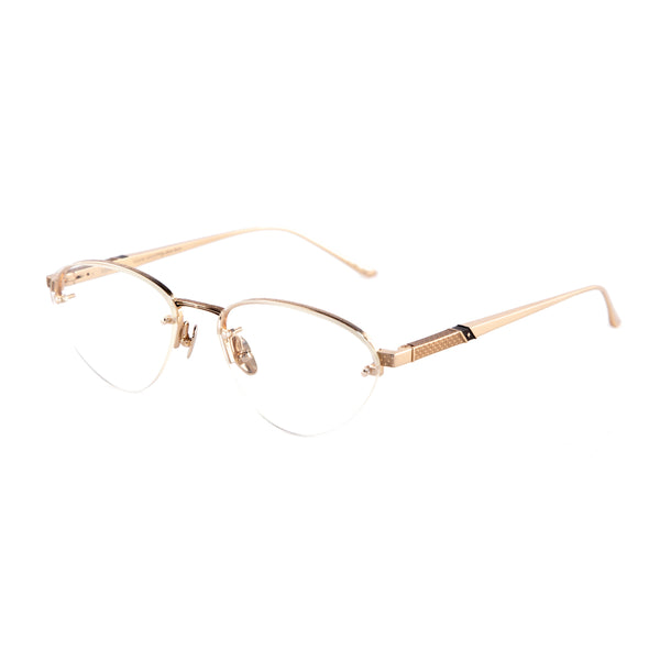 Leisure Society - Sierra - 18K Gold - Rimless - Cateye - Titanium - Eyeglasses