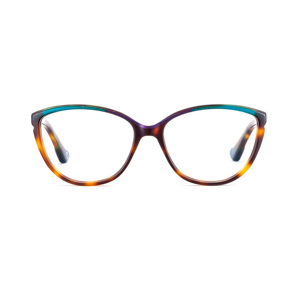 Etnia Barcelona - Llanes - 2HUPU - Havana / Purple - Cateye - Eyeglasses - Hicks Brunson Eyewear