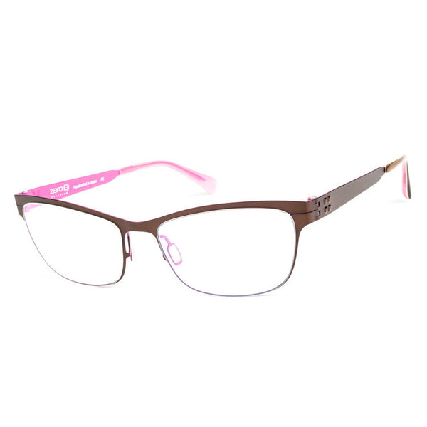 Zero G - Madison - Walnut/Fuchsia - Titanium - Eyeglasses