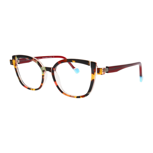 Face A Face - Mikado 2 - 1324 - Tortoise / Burgundy - Cateye - Eyeglasses