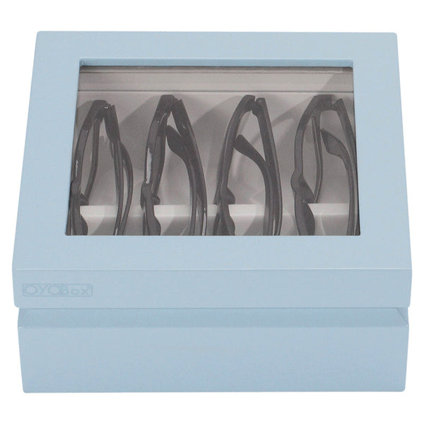 OYObox Mini Dove Blue Eyewear Organizer