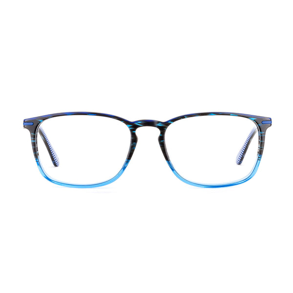 Etnia Barcelona - Missouri - 2BL - Blue - Rectangle - Eyeglasses - Hicks Brunson Eyewear
