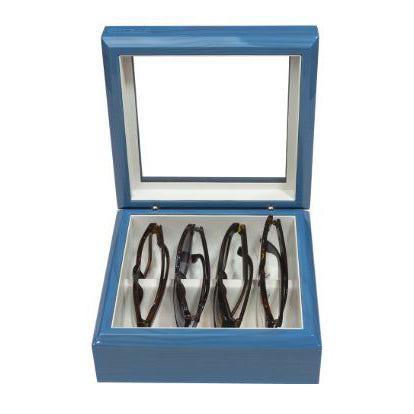 OYOBox - Eyewear Organizer - Maple Blue - Mini - Eyewear Holder