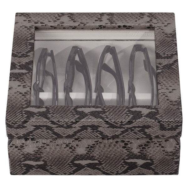 Oyobox Eyewear Organizer Snake Black/Gray Mini