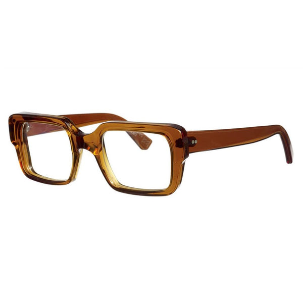 Kirk & Kirk - Percy - C5 - Walnut - Rectangle - Eyeglasses - Hicks Brunson Eyewear