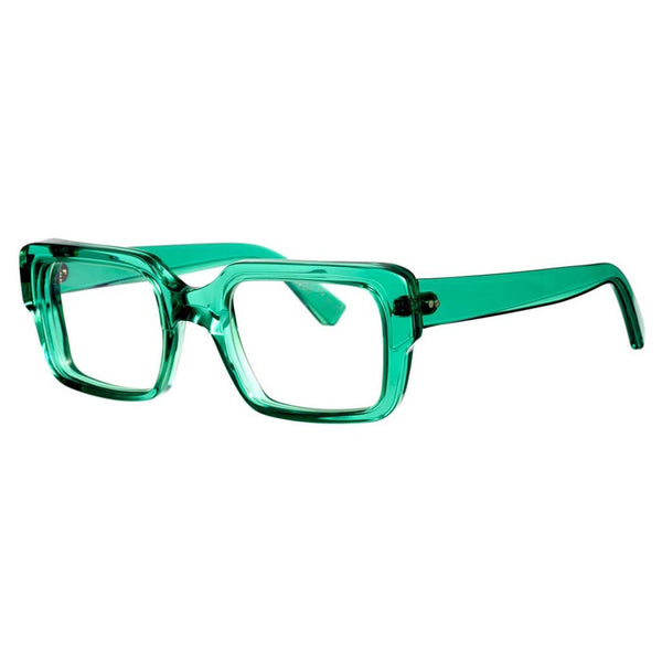 Kirk & Kirk - Percy - C9 - Jade - Rectangle - Eyeglasses - Hicks Brunson Eyewear