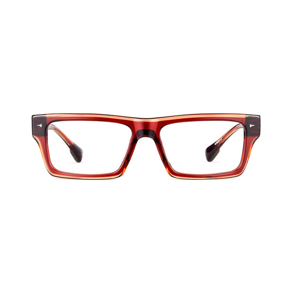 Etnia Barcelona - Regent's ST. - 4BX - Bordeaux - Rectangle - Zyl - Eyeglasses - Hicks Brunson Eyewear