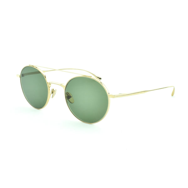 Masunaga - Rhapsody - 11 - Gold - Sunglasses - Round Sunglasses