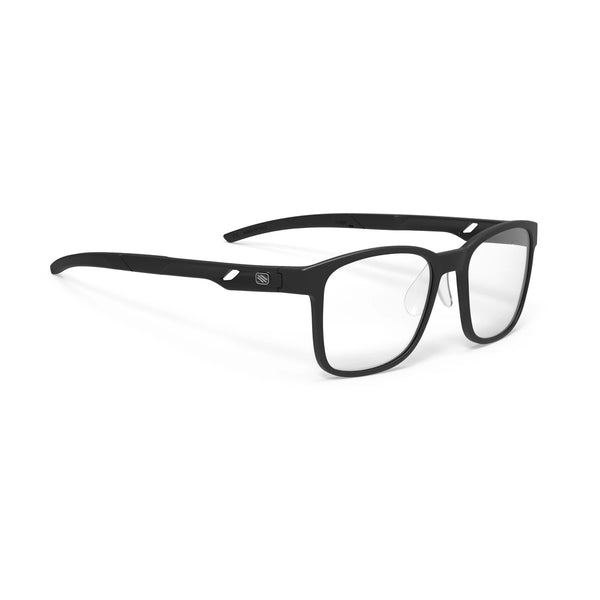 Rudy Project - Step 01 - Matte Black - Rectangle - Eyeglasses - Hicks Brunson Eyewear