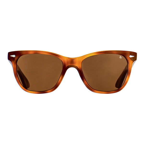 American Optical - Saratoga - Havana / Brown-Tinted Lenses - Rectangle - Sunglasses