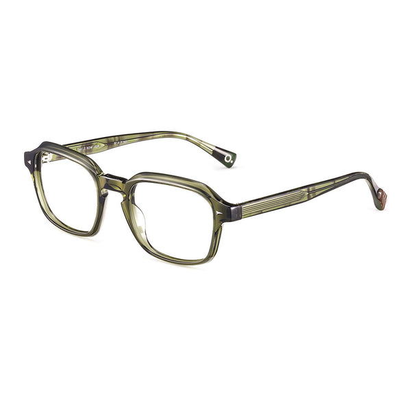 Etnia Barcelona - Savile Row - 4GR - Green - Rectangle - Eyeglasses - Hicks Brunson Eyewear