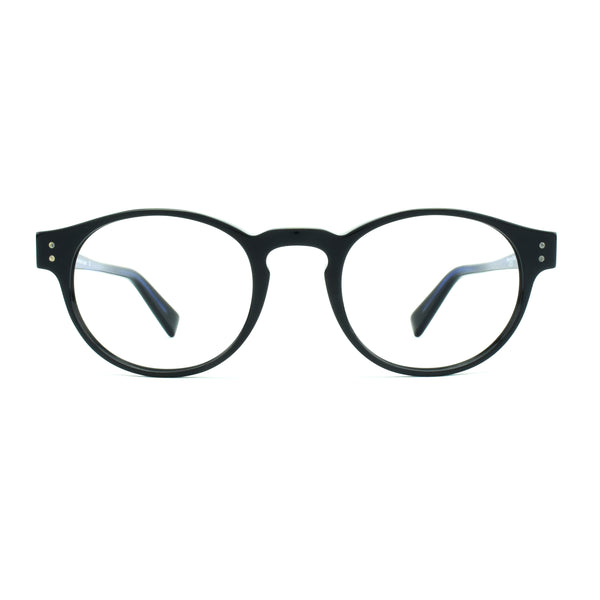 Zero G - Sherman Oaks - Navy - Round Eyeglasses - Hicks Brunson Eyewear