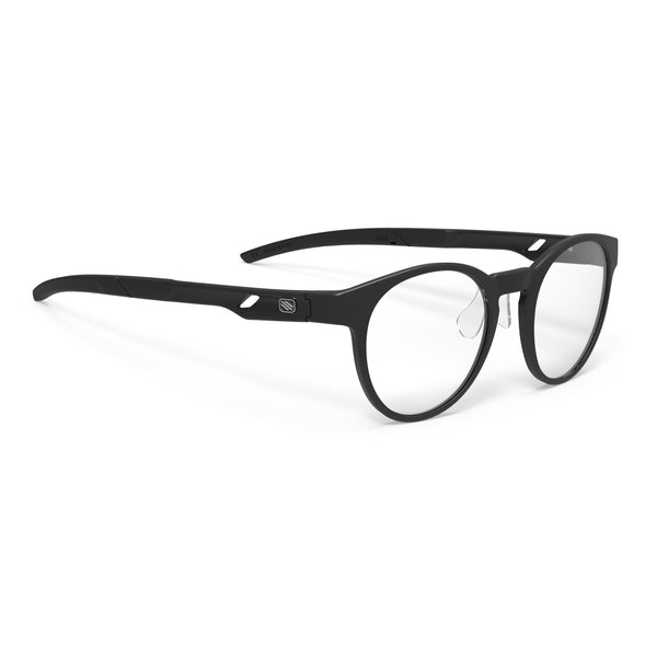 Rudy Project - Step 02 - Matte Black Gradient - Round - Eyeglasses - Hicks Brunson Eyewear