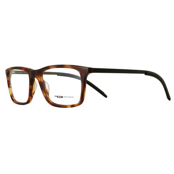 Tom Davies - TD 416 - 1134 - Tortoise - Black - Rectangular Eyeglasses
