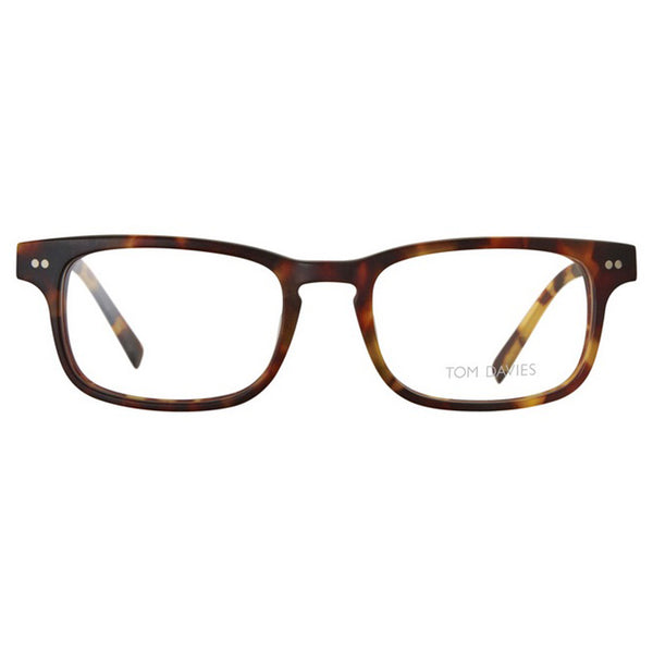 Tom Davies - TD 421 - 1170 - Tortoise - Rectangular Eyeglasses