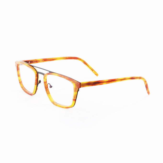 Tom Davies - TD516 - 1558 - Matte Havana / Matte Black - Rectangle - Eyeglasses - Hicks Brunson Eyewear