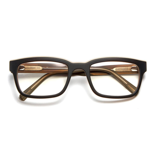 Tom Davies - TD602 - 1661 - Matte Brown - Acetate - Rectangle - Eyeglasses - Hicks Brunson Eyewear