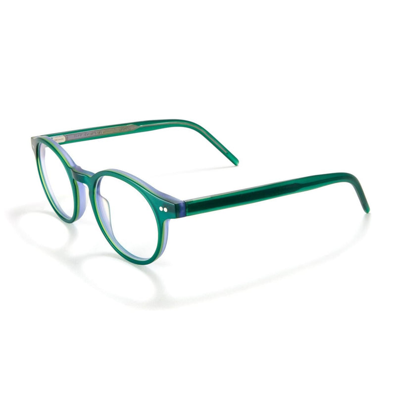 Tom Davies - TD639 - 1815 - Matte Dark Green - Round - Eyeglasses