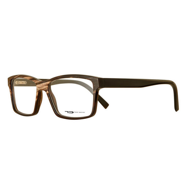 TD Tom Davies TDH004 Horn Eyeglasses Hicks Brunson Eyewear