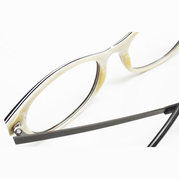 TD Tom Davies TDH014 Horn Eyeglasses Hicks Brunson Eyewear