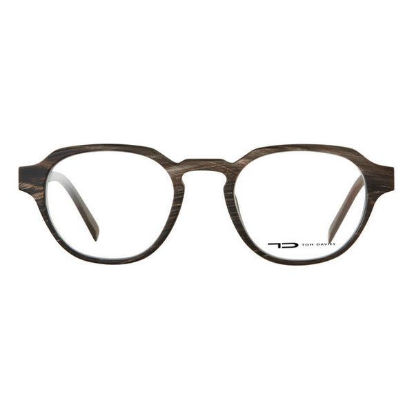 Tom Davies Natural Horn Frame Eyeglasses LE 63874 HORN Hicks Brunson Eyewear