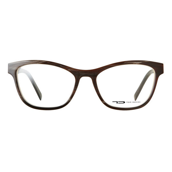 Tom Davies Natural Horn Frame Eyeglasses LE 63880 HORN Hicks Brunson Eyewear