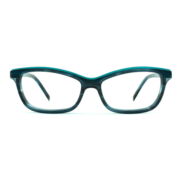 Tom Davies - TD LE - 85596 - Shoreditch - Blue/Teal - Cateye Eyeglasses - Limited Edition