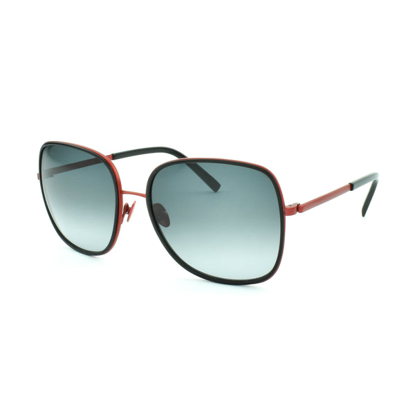 Tom Davies - TD LE - 85656 - Red / Black - Gradient Tint - Sunglasses
