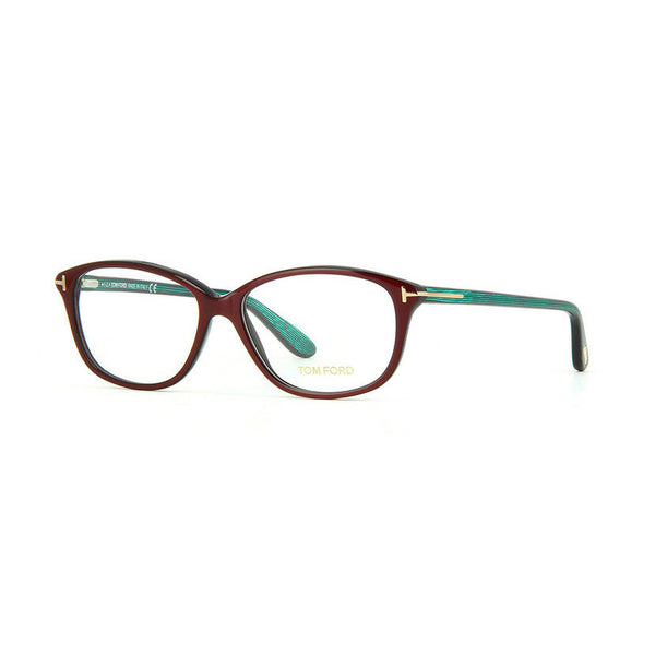 Tom Ford - TF 5316 - 072 - Burgundy - Rectangular Eyeglasses