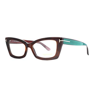 Tom Ford - TF 5363 - 052 - Brown - Rectangle - Cateye - Eyeglasses