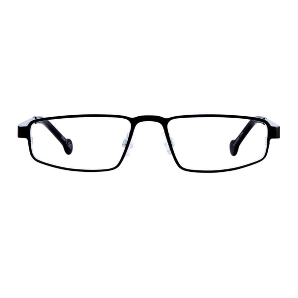 EyeOs - The Don - NTS - Night Slate - Reading Glasses - Blue Light Lenses