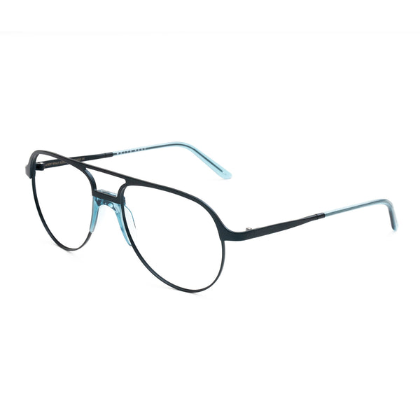Andy Wolf - Tolar - E - Blue - Aviator - Eyeglasses - Metal - Hicks Brunson Eyewear