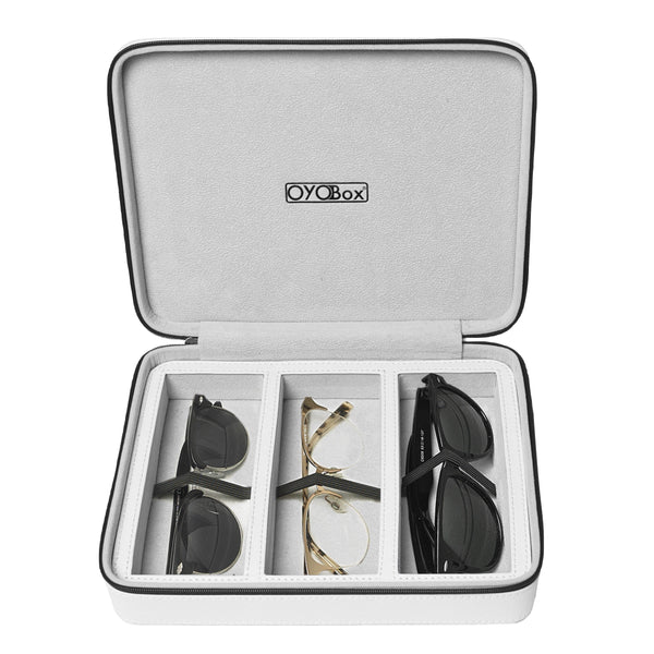 Oyobox - Travel Case - Island White - Frame Case - Frame Organizer