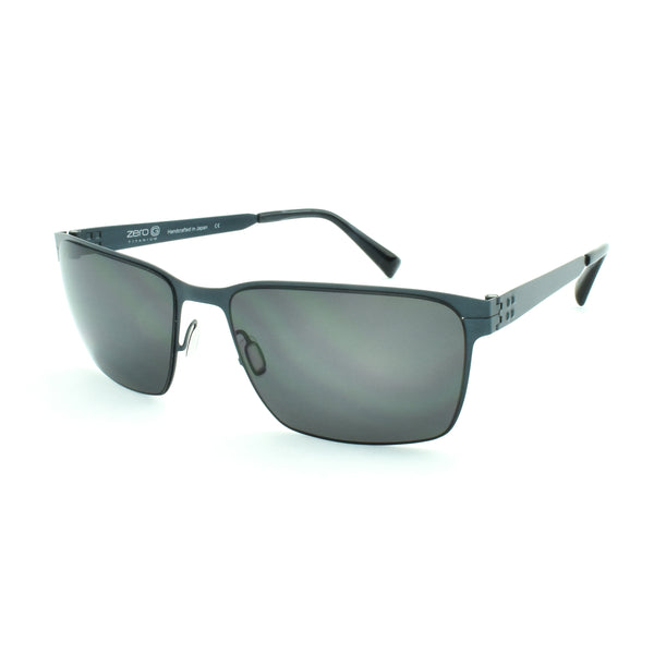 Zero G - Wilson - Brushed Blue Steel - Polarized - Sunglasses