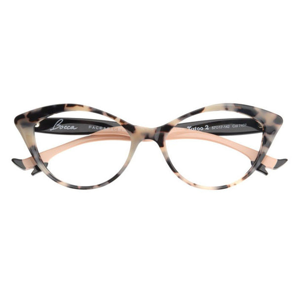 Face A Face Bocca Tatoo 2 Eyeglasses