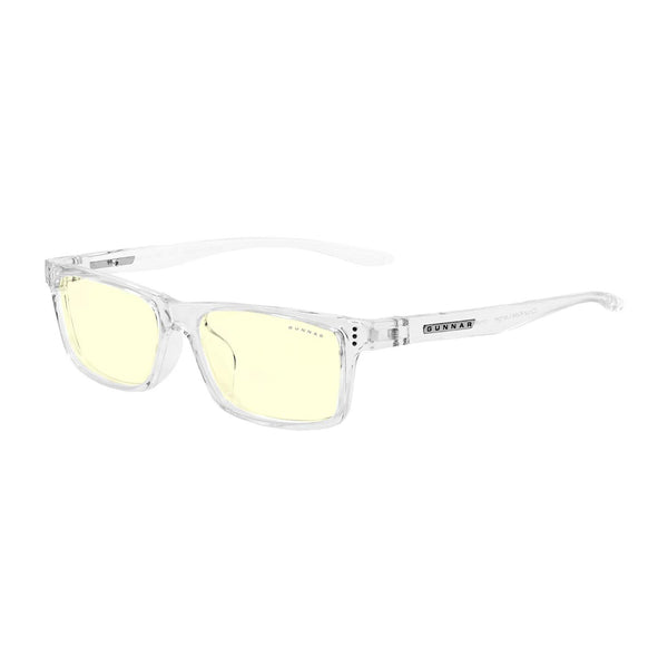 Gunnar - Cruz Kids Large - Crystal - Amber 65% - Kids Blue Light Glasses - Rectangle