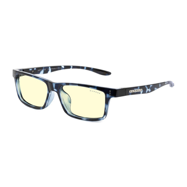 Gunnar - Cruz Kids Large - Navy Tortoise - Amber 65% - Kids Blue Light Glasses - Rectangle