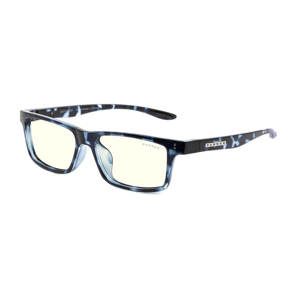 Gunnar - Cruz Kids Large - Navy Tortoise - Clear 35% - Kids Blue Light Glasses - Rectangle