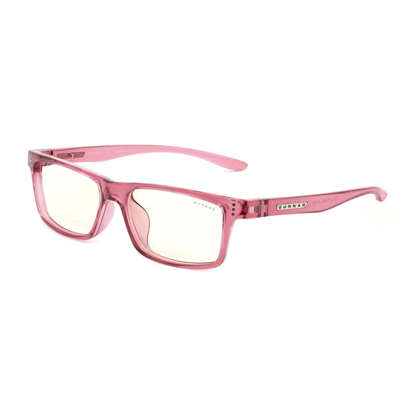 Gunnar - Cruz Kids Large - Pink - Clear 35% - Kids Blue Light Glasses - Rectangle