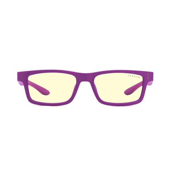 Gunnar - Cruz Kids Small - Magenta - Amber 65% - Kids Blue Light Glasses - Rectangle