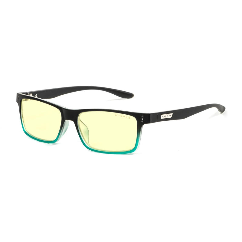 Gunnar - Cruz - Onyx Teal - Amber 65% - Blue Light Glasses - Rectangle