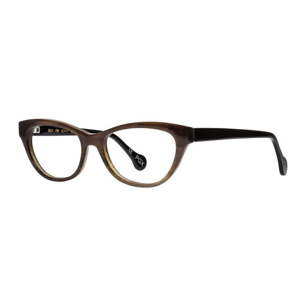 EyeOs Reading Glasses Ibiza Buffalo Horn FRN