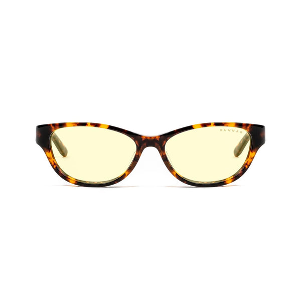 Gunnar - Jewel - Tortoise - Amber 65% - Blue Light Glasses - Cateye