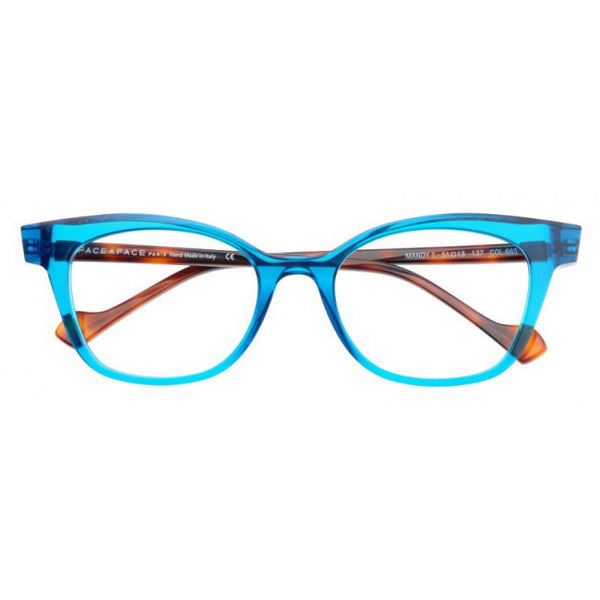 Face A Face - Mandy 1 - 665 - Cateye - Eyeglasses - Hicks Brunson Eyewear