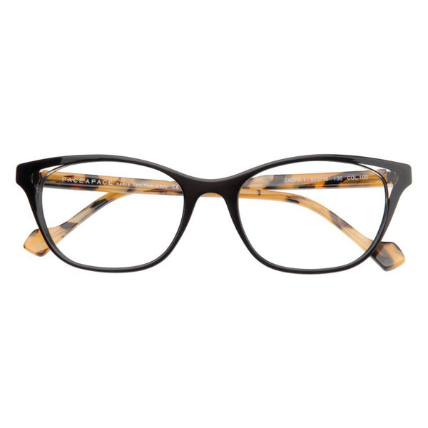 Face A Face - Sacha 1 - 100 - Cateye - Eyeglasses - Hicks Brunson Eyewear