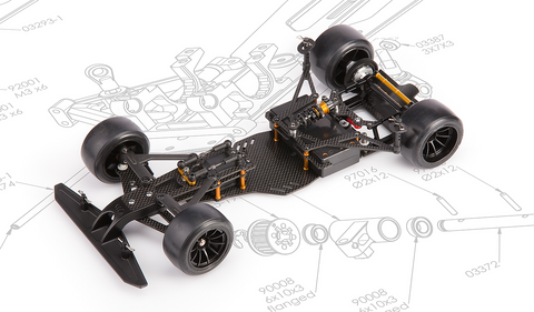 LM16 1.2 1/10 Prototype Car Kit (NEW)